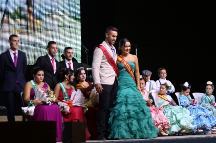 Laura, the outgoing feria queen