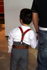 Little boy in costume