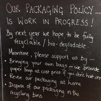 Bonissim's new packaging policy